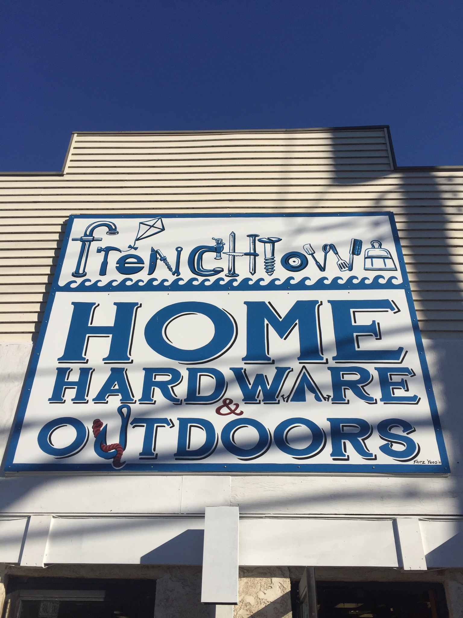 Frenchtown Home, Hardware and Outdoors